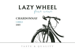 lazy wheel bicycle wine