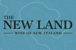 the new land logo wino